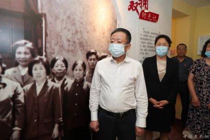 孙绍骋在辽宁省沈阳市调研退役军人工作